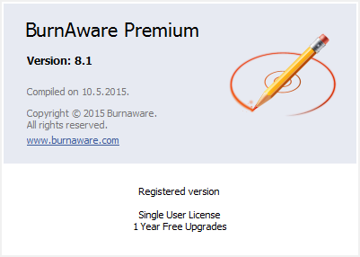 BurnAware PRO & Premium 8.1 incl Patch