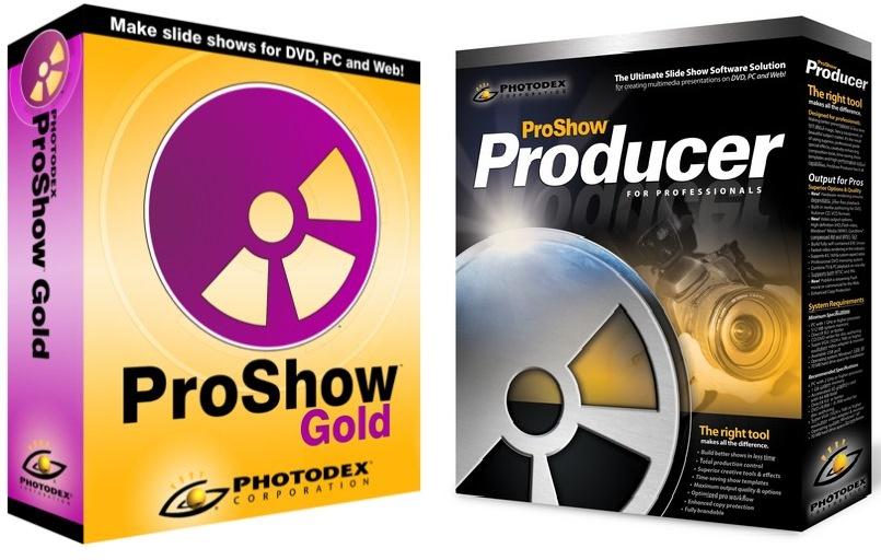 Photodex ProShow Producer & Gold 6 + Crack torrent free download