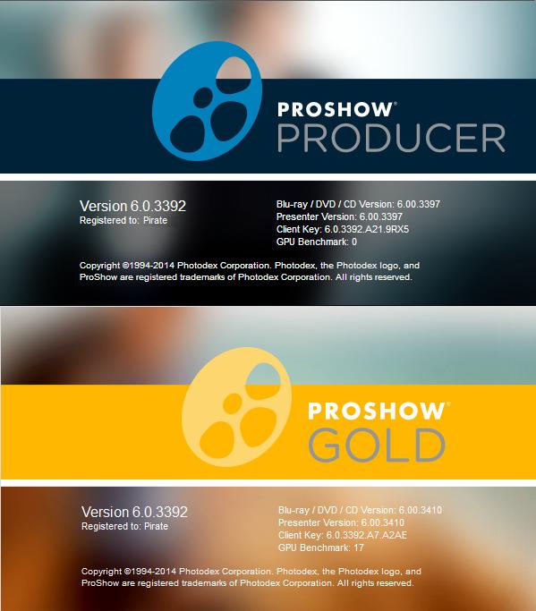 Photodex ProShow crack download