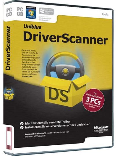 Uniblue DriverScanner key for activation