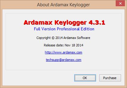 Ardamax Keylogger patch download