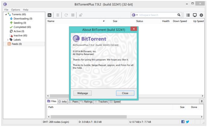 BitTorrent Plus lifetime crack