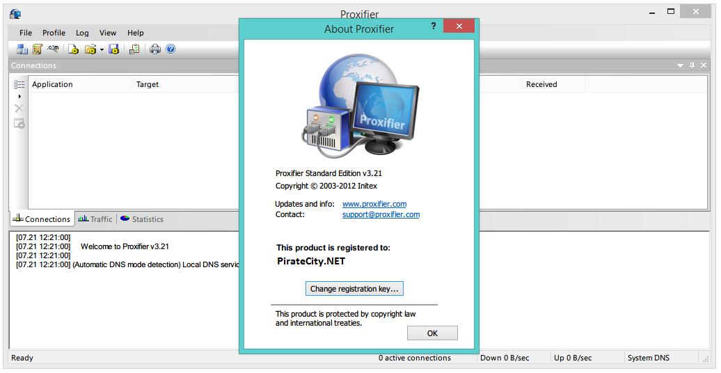 Proxifier license key