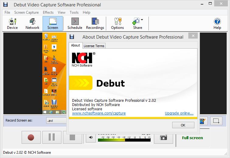 NCH Debut Video Capture crack download