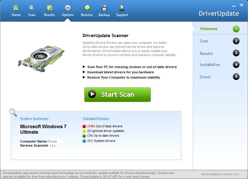 SlimWare Utilities DriverUpdatecrack download
