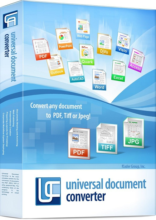 Universal Document Converter 6.4 With Serial Numbers