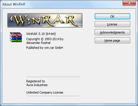 WinRAR Universal Activator