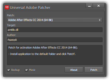 Adobe CC Patch