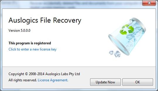 Auslogics File Recovery lifetime activation code
