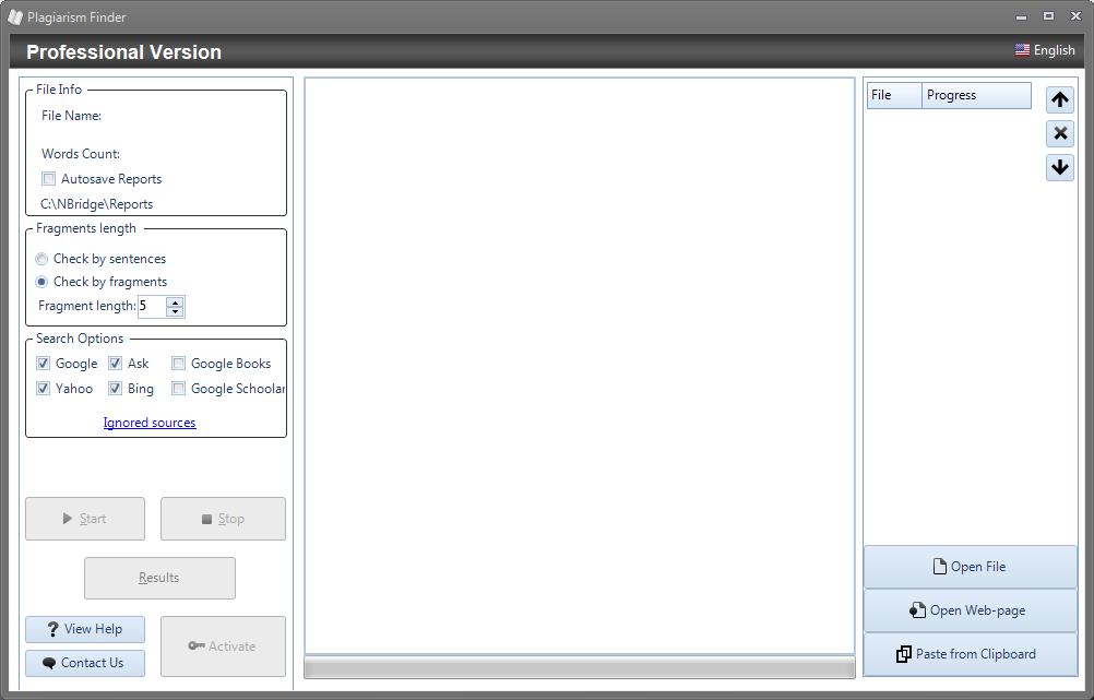 NBridge Plagiarism Finder Basic Version Crack download