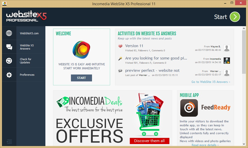 WebSite x5 Professional full version torrent download