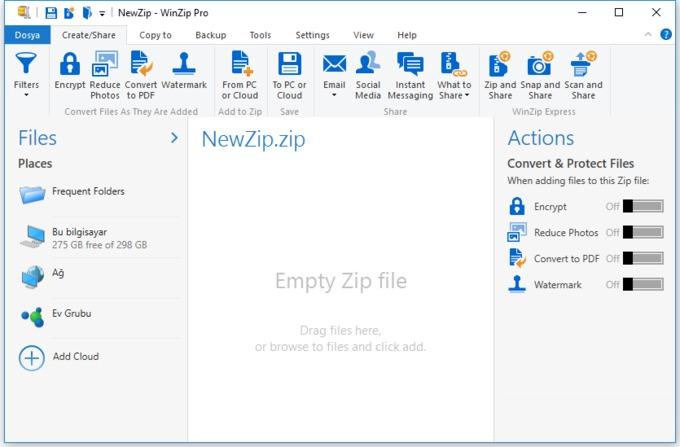 WinZip PRO + Serial Keys torrent download