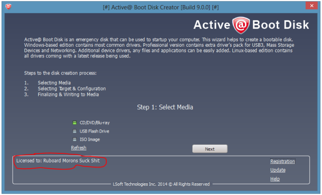 Active@ Boot Disk Suite license key