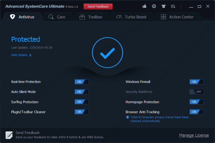 Advanced System Care Ultimate 8 full crack torrent download