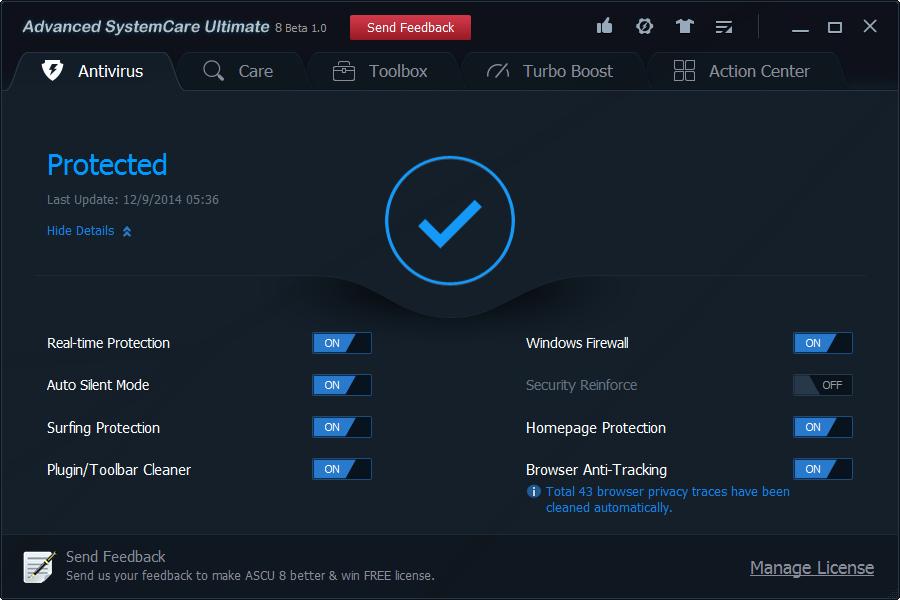 Advanced System Care Ultimate 8 full crack torrent download