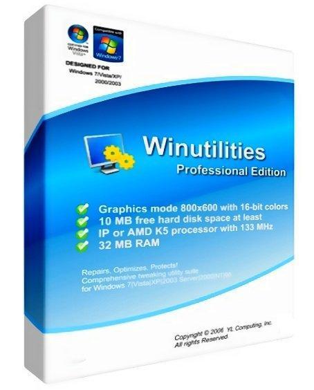 WinUtilities PRO crack download