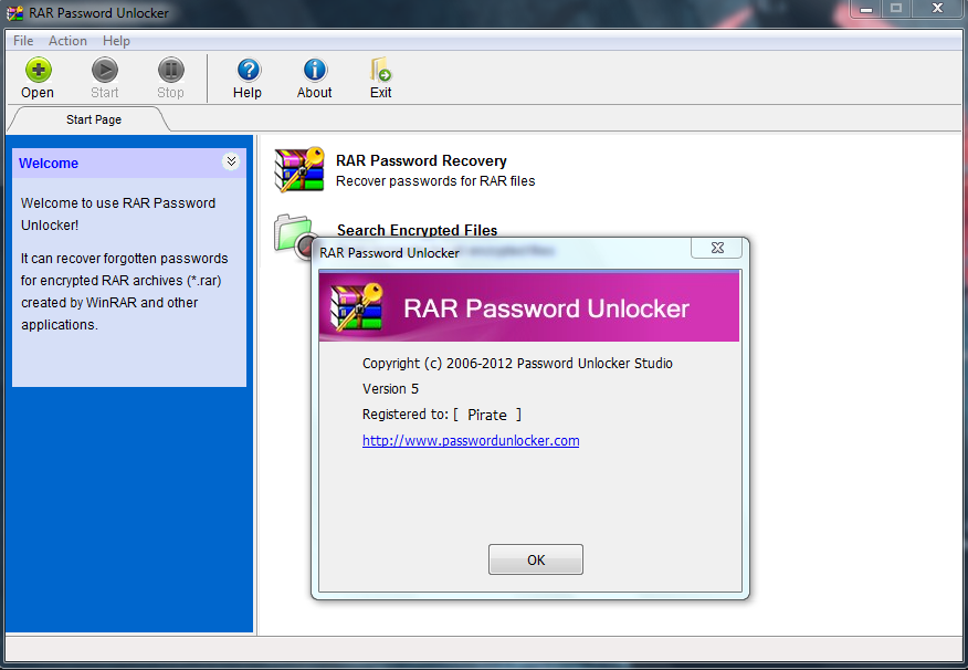 RAR Password Unlocker crack download