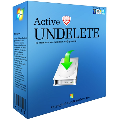 Active@ UNDELETE PRO serial number for activation