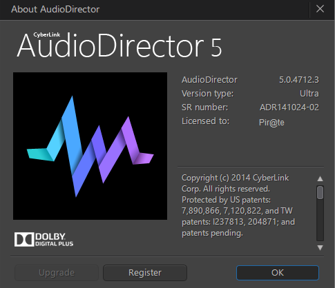 CyberLink AudioDirector Ultra crack download
