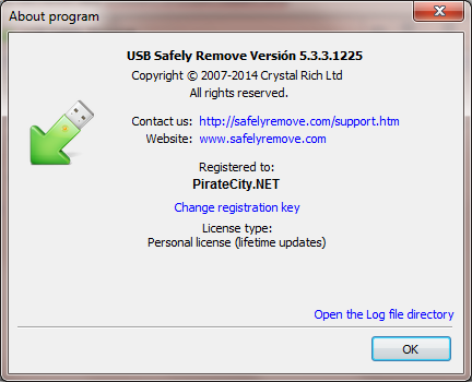 USB Safely Remove license code