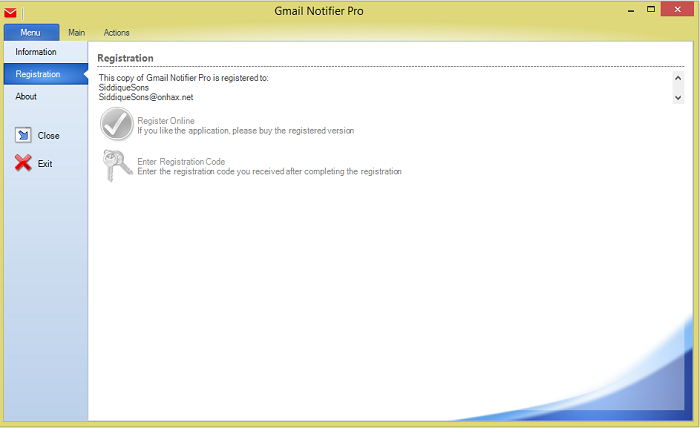 Gmail Notifier PRO crack download