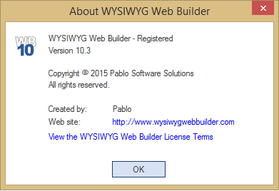 WYSIWYG Web Builder 14 registration code