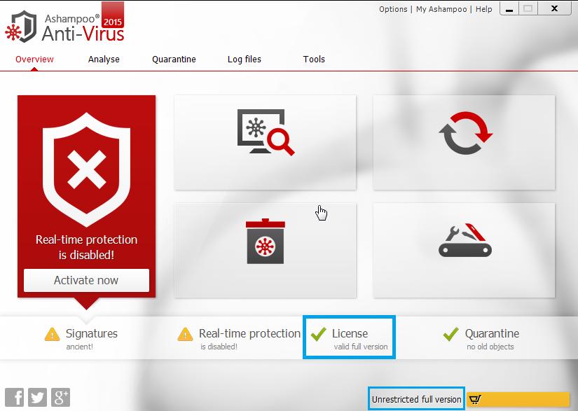 Ashampoo Anti-Virus activation crack torrent