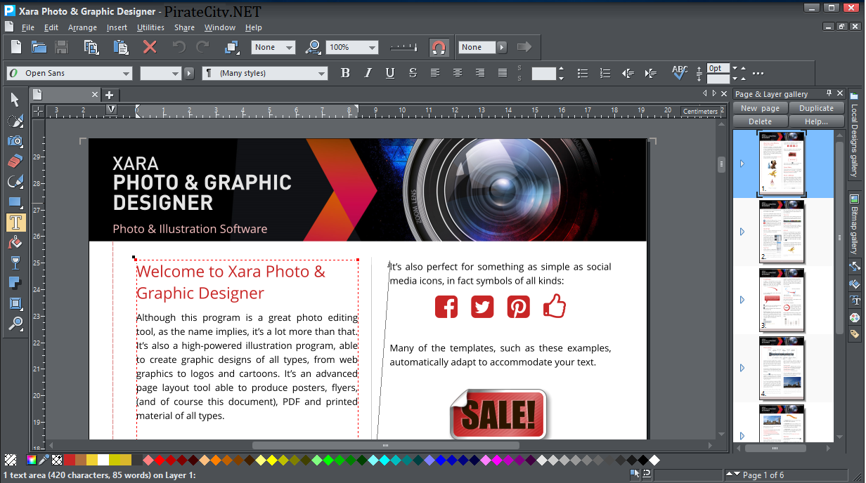 Xara Photo & Graphic Designer license code