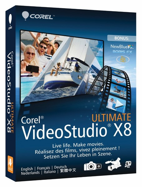 Corel VideoStudio Ultimate X8 torrent download