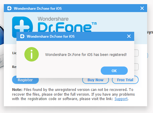 Wondershare Dr.Fone For iOS patch