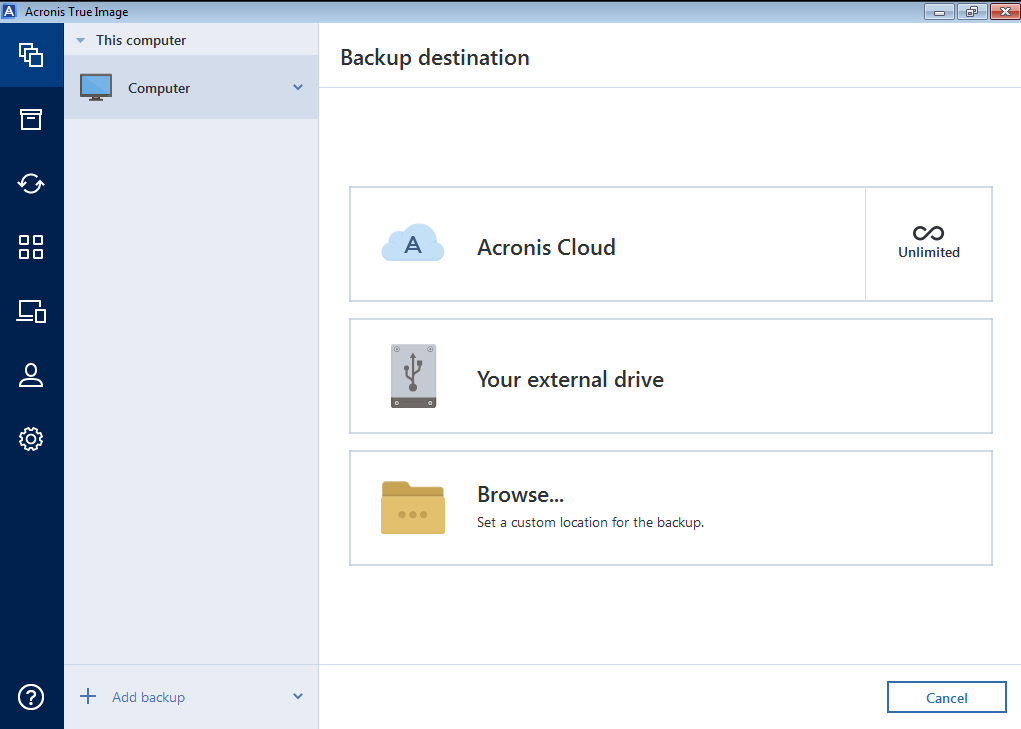 Acronis True Image serial number for activation