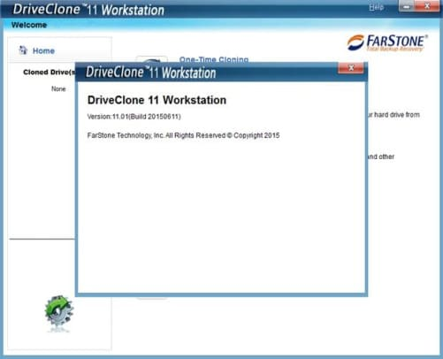 DriveClone key for activation