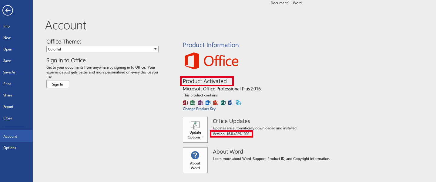 Microsoft Office 2016 product key + Cracked Free Latest
