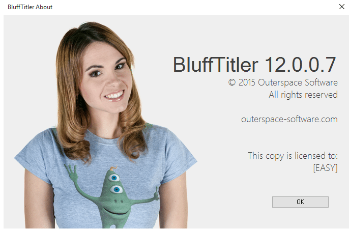 BluffTitler license code