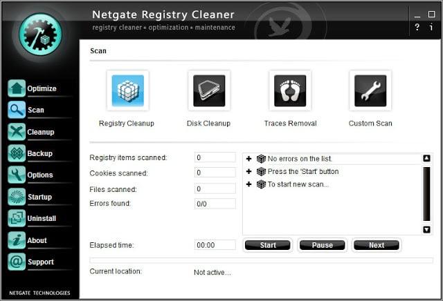 Netgate Registry Cleaner torrent download