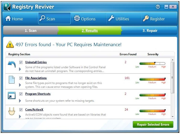 Registry Reviver patch