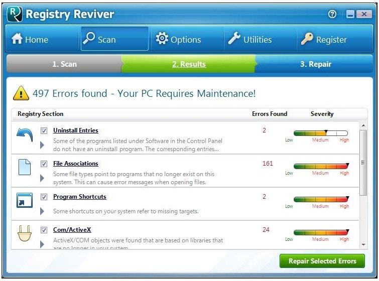 Registry Reviver patch