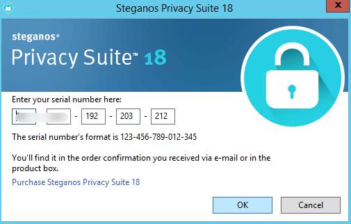 Steganos Privacy Suite license code