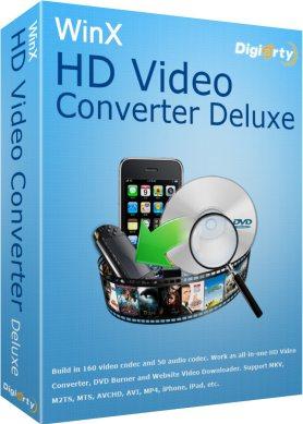 WinX HD Video Converter crack free download