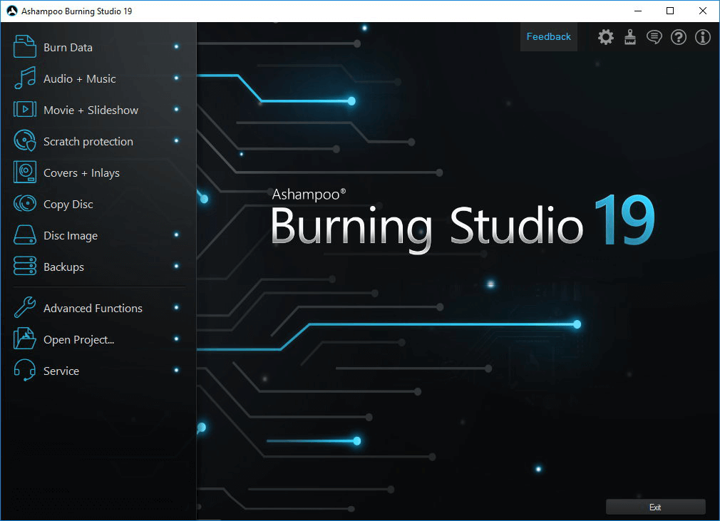 Ashampoo Burning Studio 19 license key