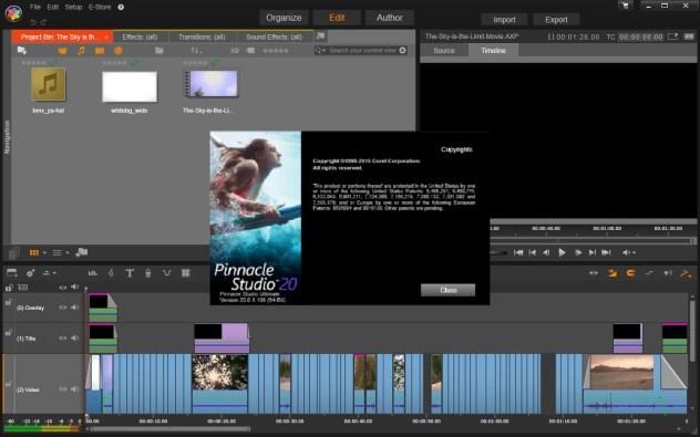 Pinnacle Studio 20 crack download