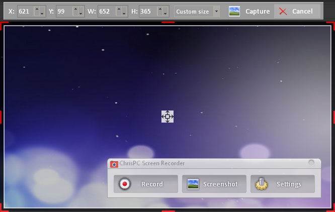 ChrisPC Screen Recorder 1.60 Crack torrent