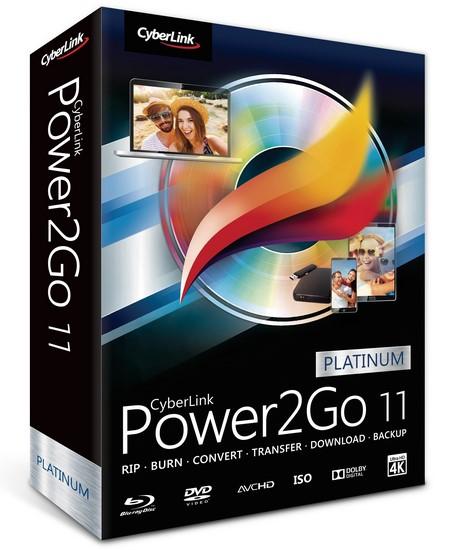 Download CyberLink Power2Go Platinum torrent