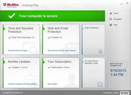 McAfee AntiVirus Plus crack download