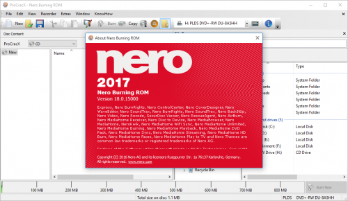 nero free download full version with crack