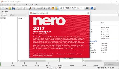 nero burning crackeado download