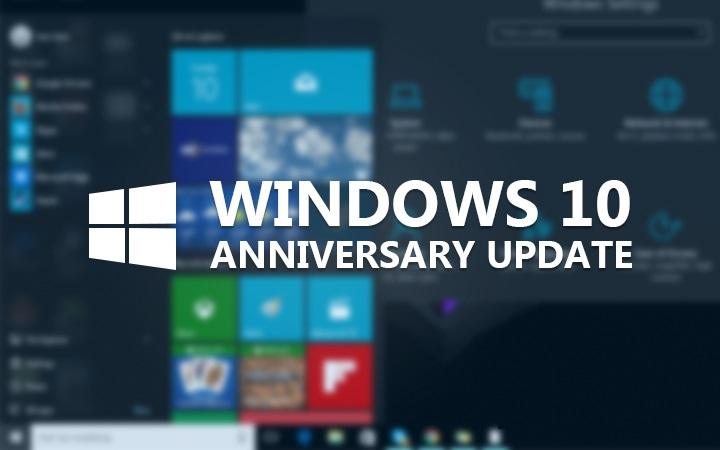 Windows 10 Anniversary Update iso