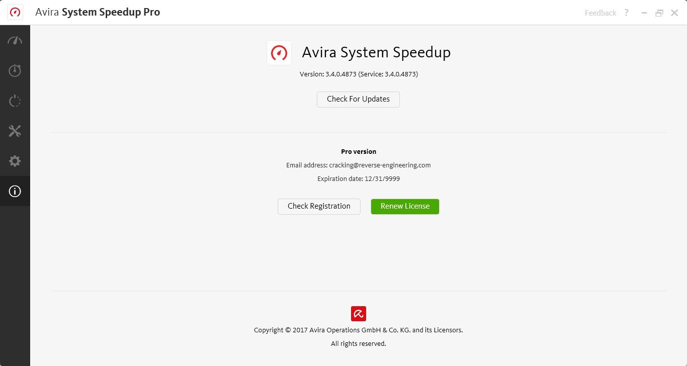 Avira System Speedup Pro crack free download