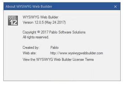 WYSIWYG Web Builder 12 lifetime licence activation code