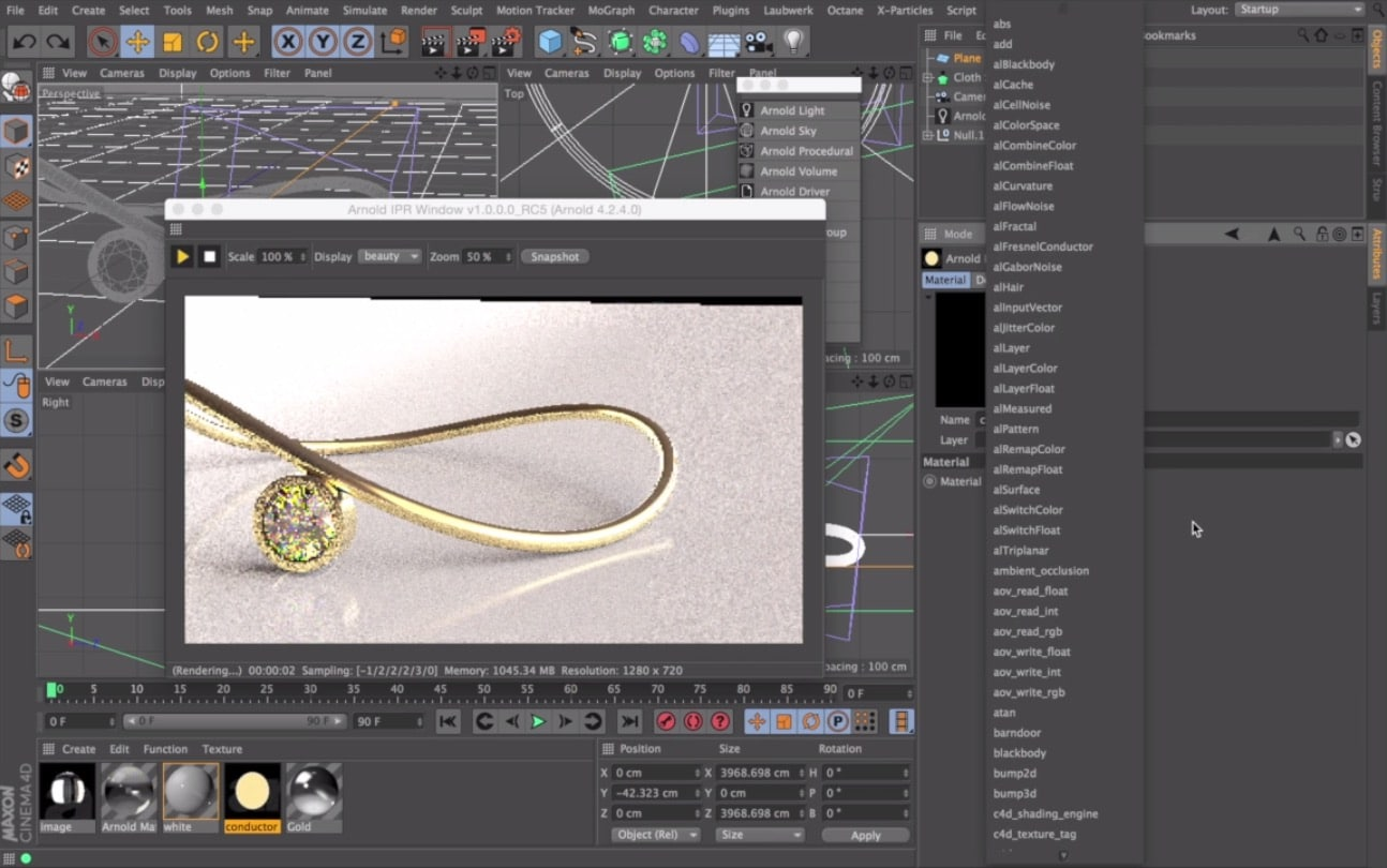 Arnold for Cinema 4D 2.0.2 crack torrent